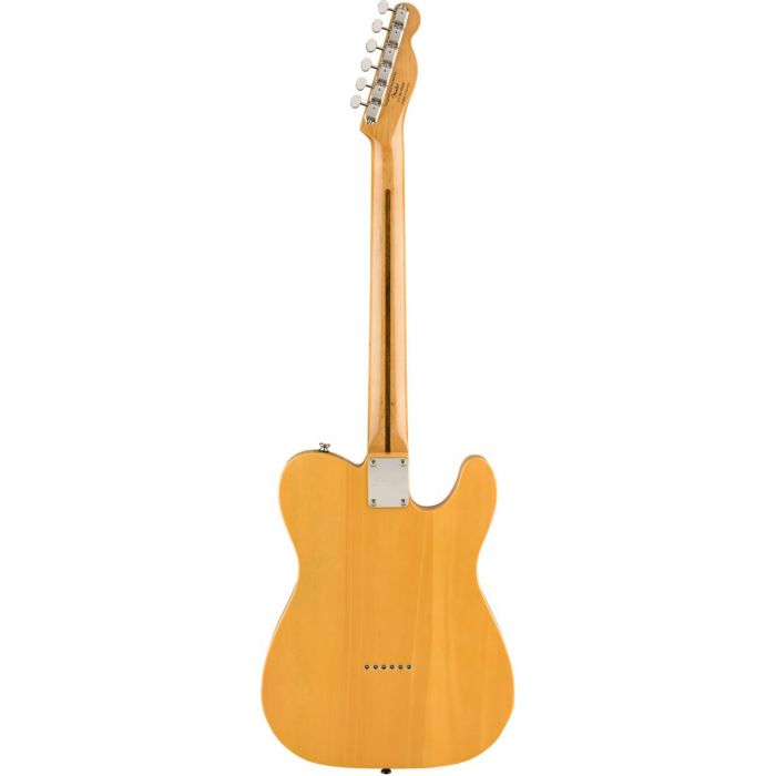 Full rear view of a Squier Classic Vibe 50s Telecaster LH MN Butterscotch Blonde