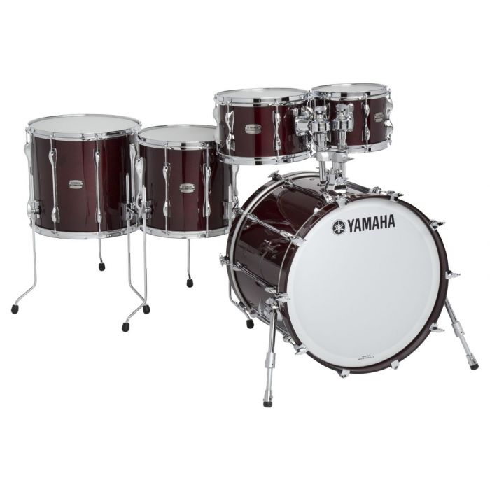 Ex-Demo Yamaha Absolute Maple Hybrid 5-Piece Shell Pack Classic Walnut
