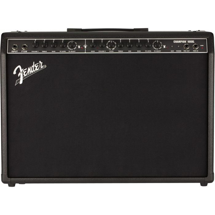 Front View of Fender Champion 100XL Combo Amp