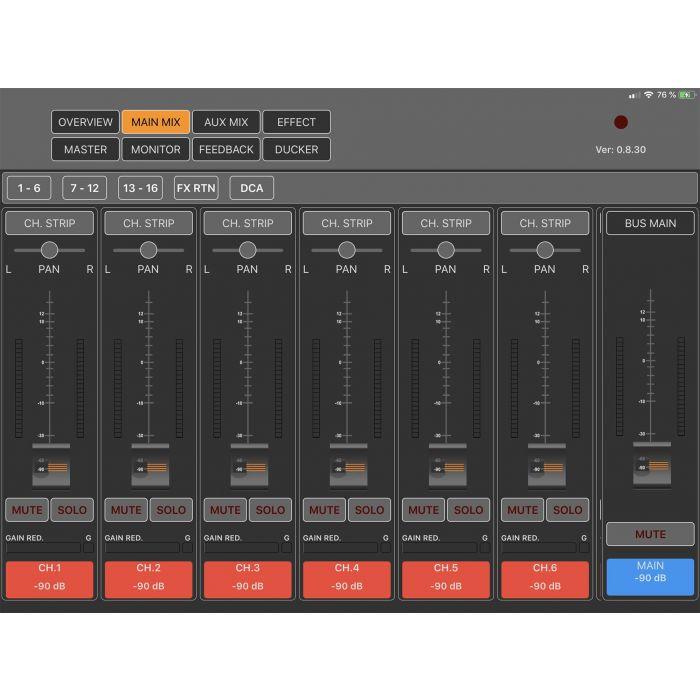 Peavey Unity Mixer Software