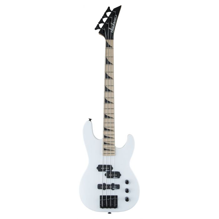 Jackson Concert Bass Minion JS1XM Bass Guitar Snow White