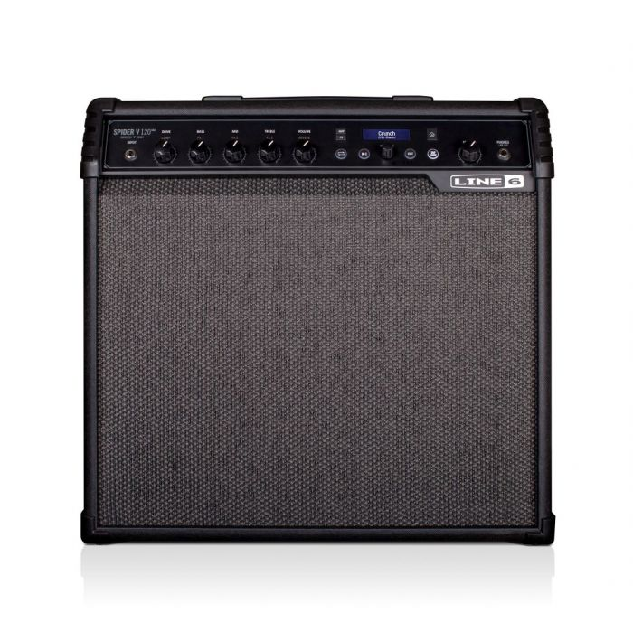 Full frontal view of a Line 6 Spider V120 MK2 Guitar Combo Amp