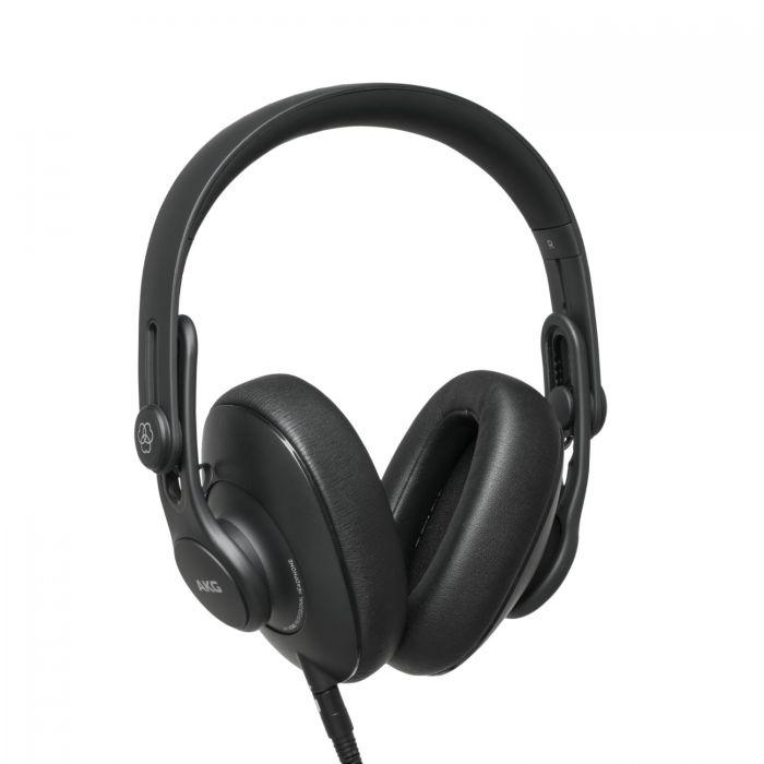 Rear Left Angle of AKG 361 Headphones