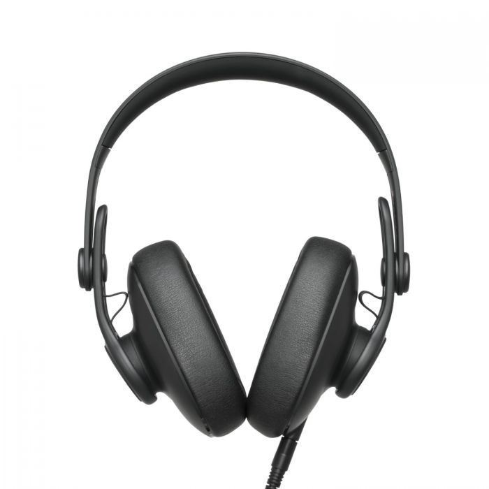 Front View of AKG K361 Over-Ear Closed-Back Studio Headphones