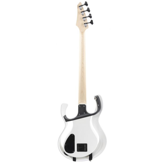 Full rear view of a Vox Starstream Active Bass 1H Artist Pearl White