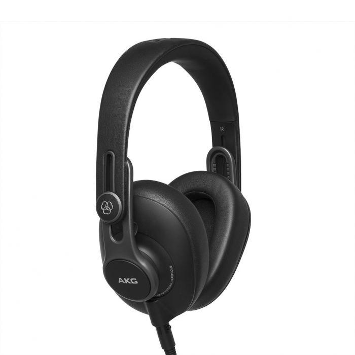 Rear Left View of AKG K371 Studio Headphones