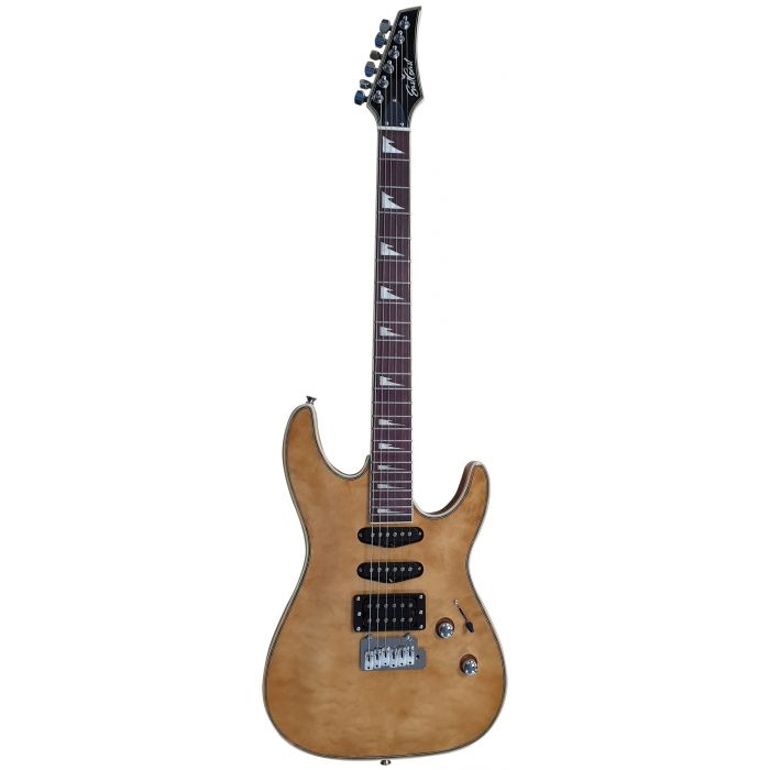 Eastcoast GVQ230-SP Electric Guitar Natural Full Frontal View