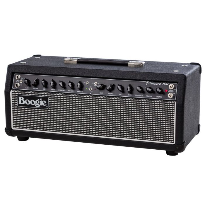Left Angle View of Mesa Boogie Fillmore 100 Guitar Amplifier Head