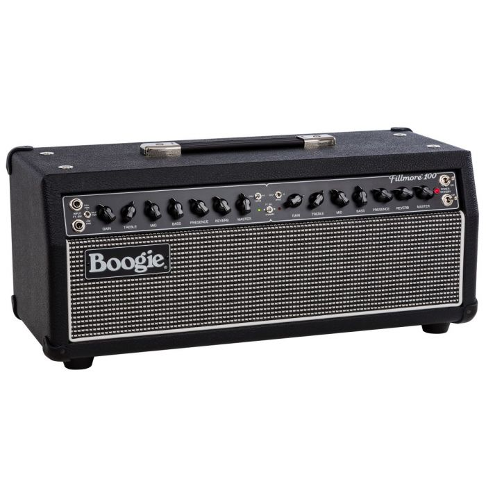 Right Angle View of Mesa Boogie Fillmore 100 Guitar Amplifier Head