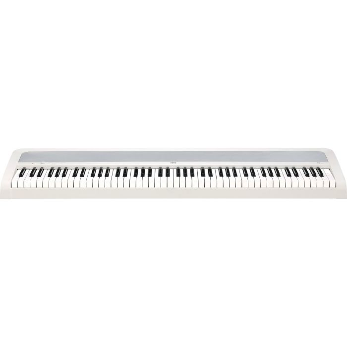 Frontal View of Korg B2 Digital Piano White