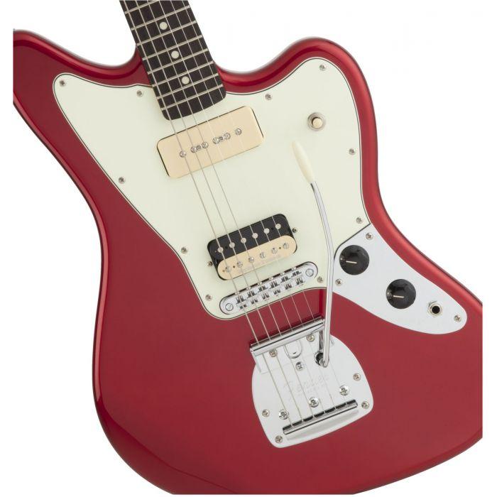 Fender Jean-Ken Johnny Jaguar Signature Guitar Body Detail