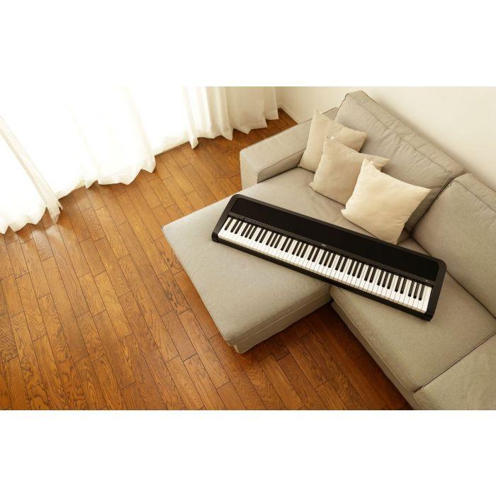 Korg B2 Digital Piano In A Living Room