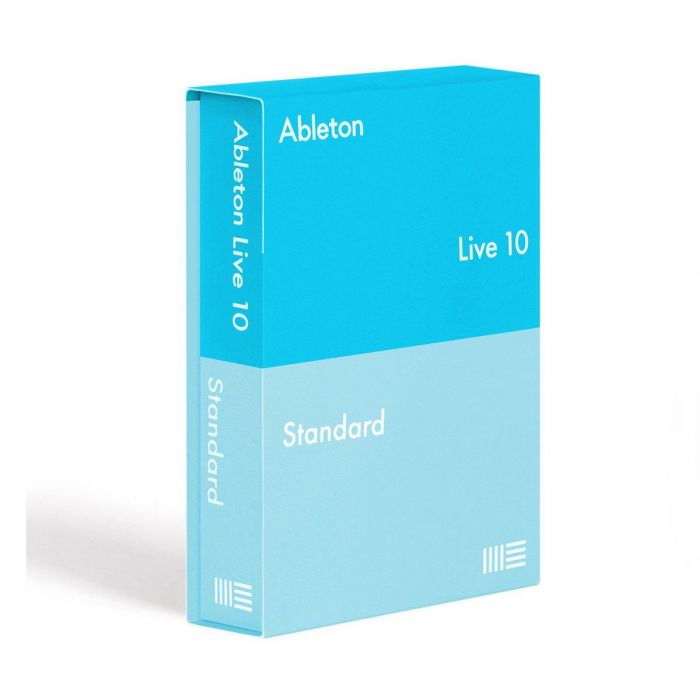 Boxed version of Ableton Live 10 Standard