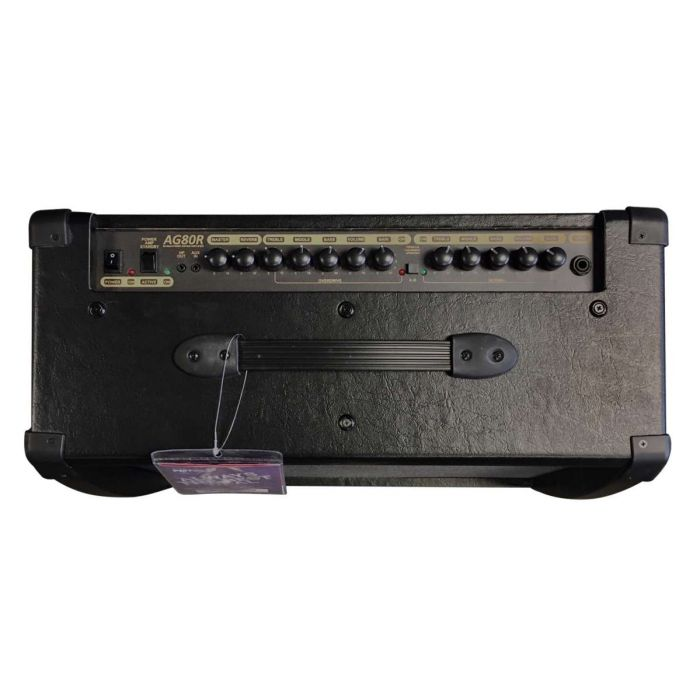 Top Down View of Albion AG80R 80W Hybrid Combo Amp