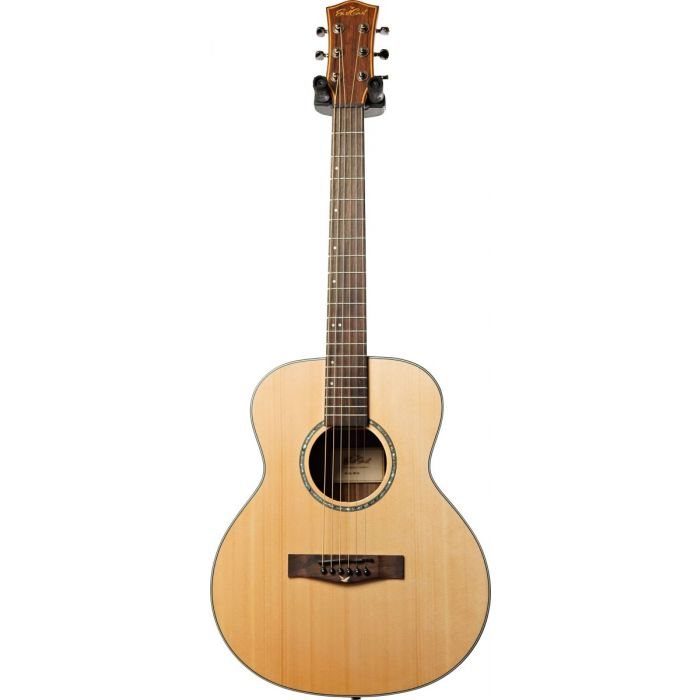 Full frontal view of a Eastcoast M1S Acoustic Guitar Satin Natural