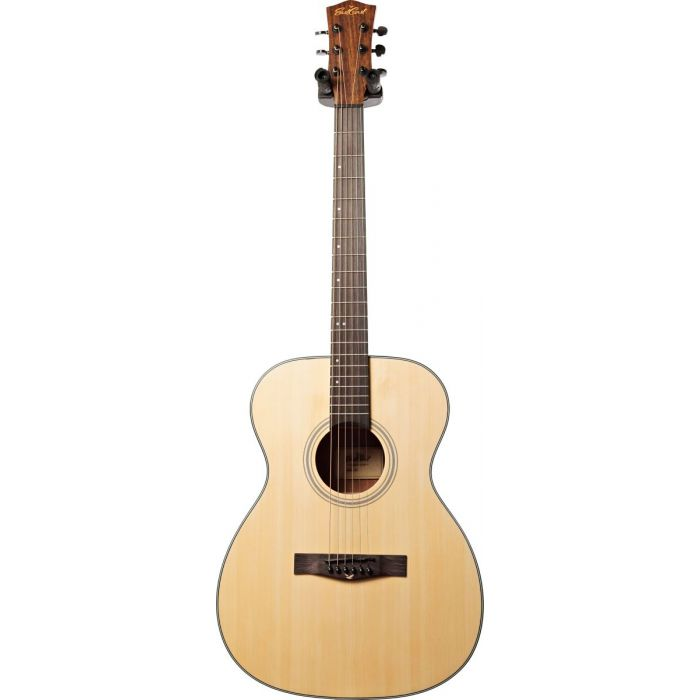 Full frontal view of a Eastcoast G1 Grand Auditorium Acoustic Guitar Satin Natural