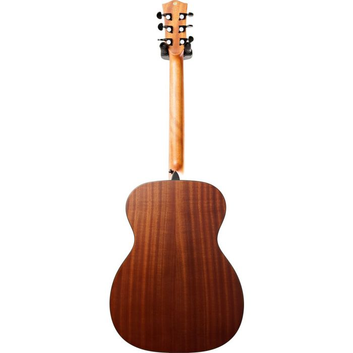 Full rear view of a Eastcoast G1 Grand Auditorium Acoustic Guitar Satin Natural