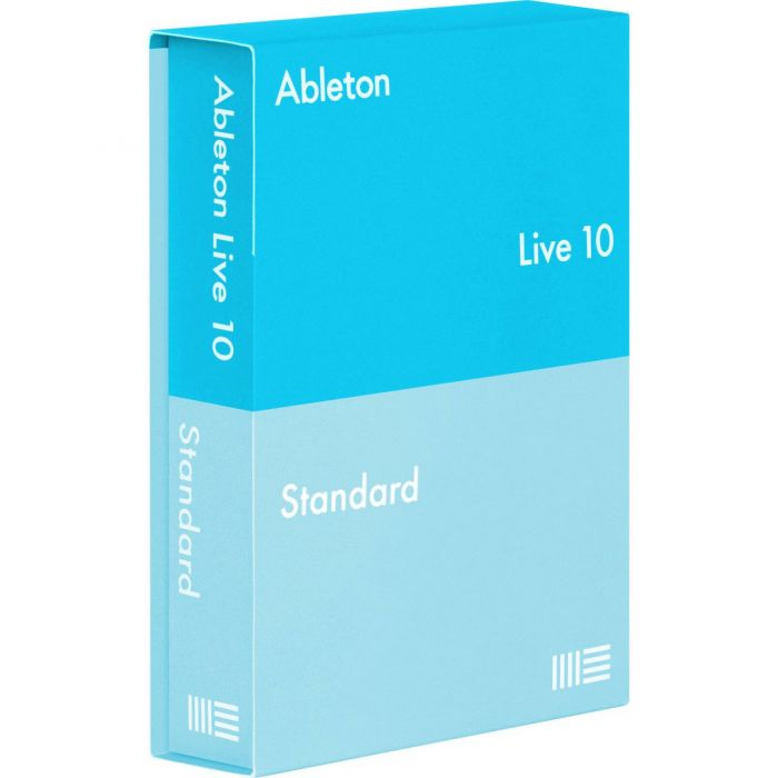 Full view of an Ableton Live 10 Standard UPG from Live 1-9 Standard Download