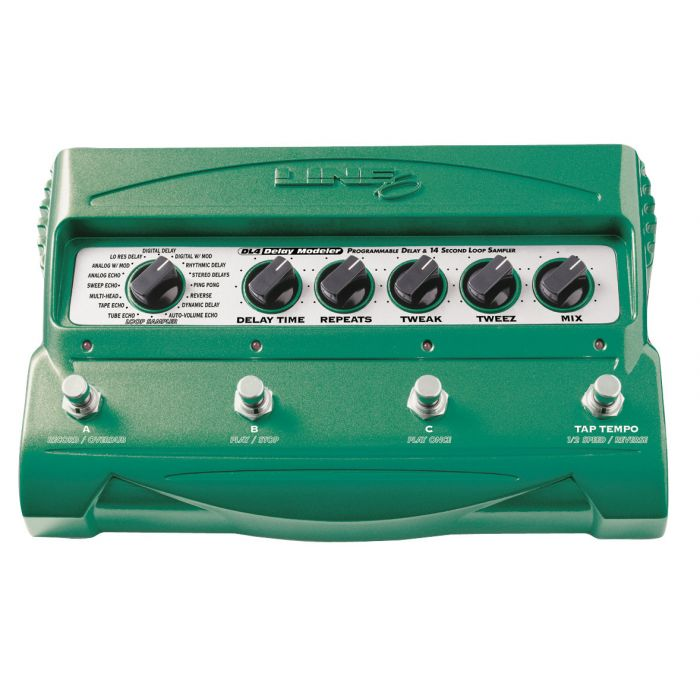 Line 6 DL4 Delay Guitar Pedal and Modelling Stompbox