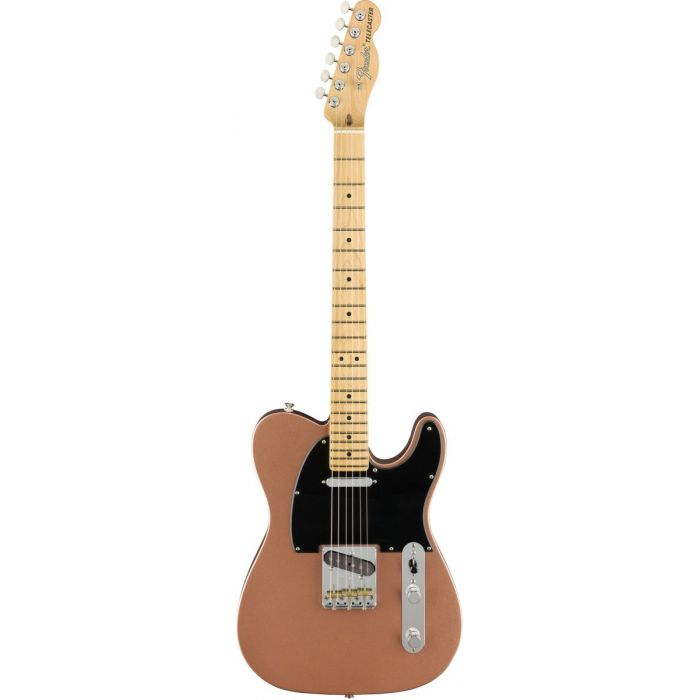 Full frontal view of a Fender American Performer Telecaster MN Penny