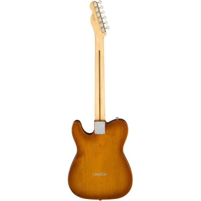 Full rear view of a Fender American Performer Telecaster RW Honey Burst