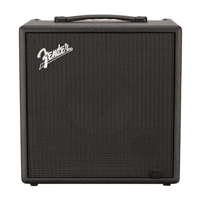 Full frontal view of a Fender Rumble LT25 Bass Combo Amplifier