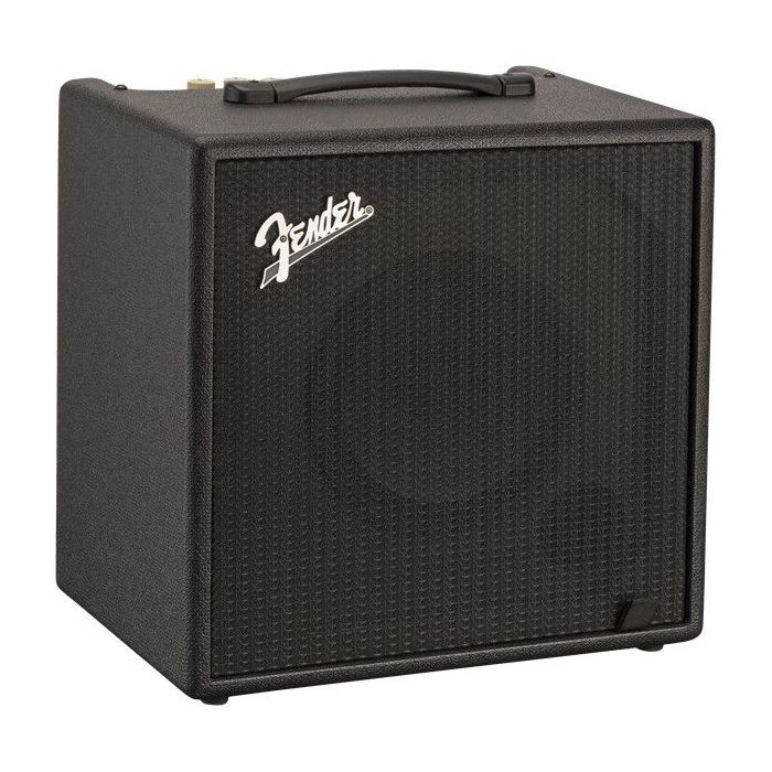 Front angled view of a Fender Rumble LT25 Bass Combo Amplifier