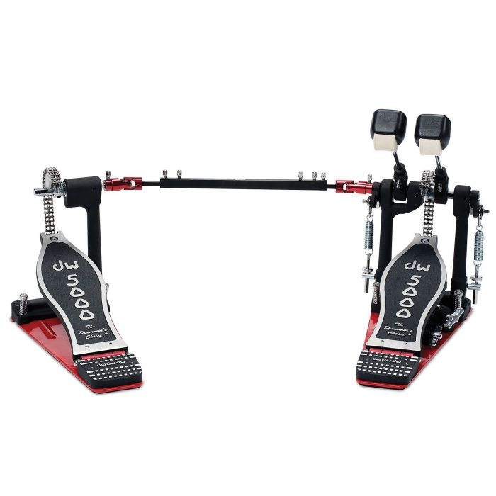 Full view of a DW 5002 AD4 Accelerator Double Bass Drum Pedal