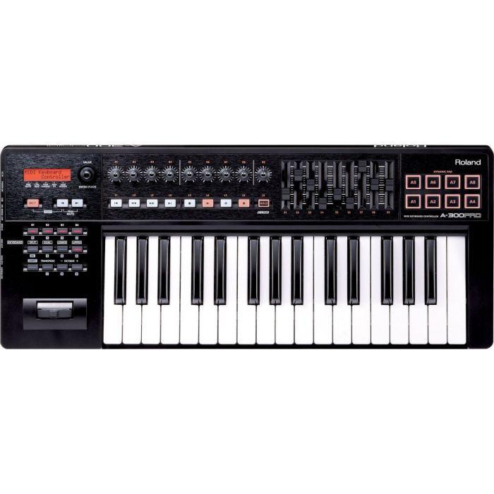 Full view of a Roland A-300PRO USB MIDI Keyboard