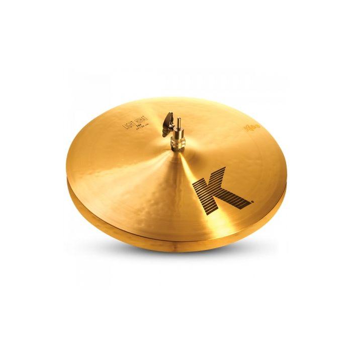 """Full view of a Zildjian 15"""" K Zildjian Light Hi Hat (Top Only)"""