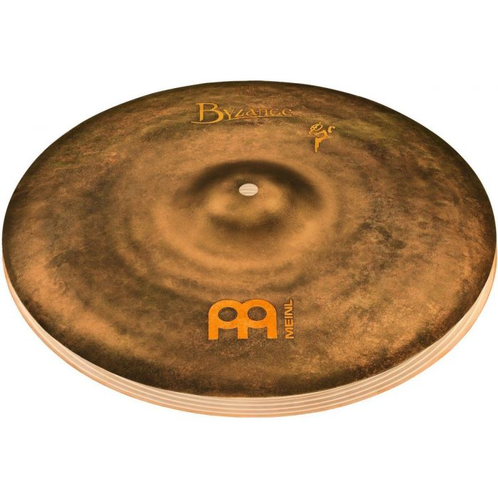 "Full view of a Meinl Byzance Vintage 14"" Sand Hi-Hats"