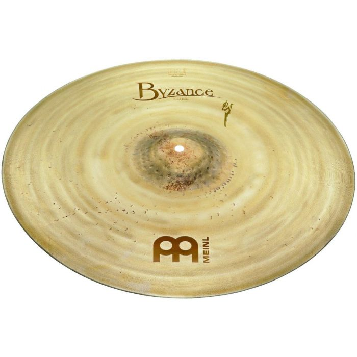 Full view of a Meinl Byzance Vintage 22 inch Sand Ride Cymbal