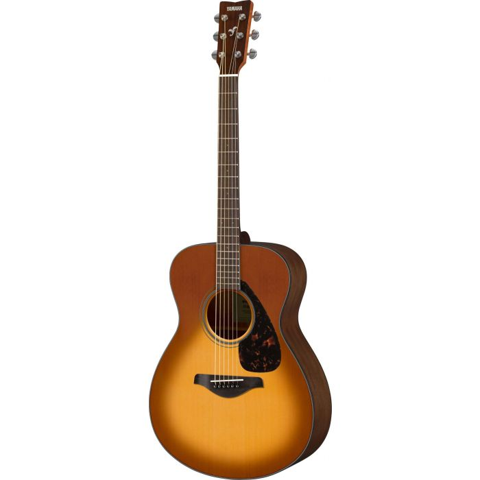 Full front view of a Yamaha FSX800C Acoustic in Sandburst