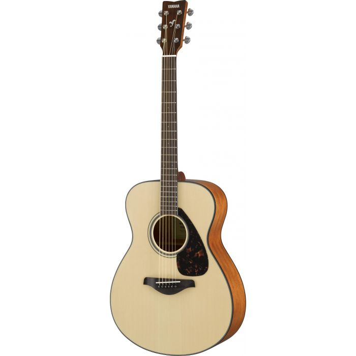 Full front view of a Yamaha FS800 Acoustic in Natural