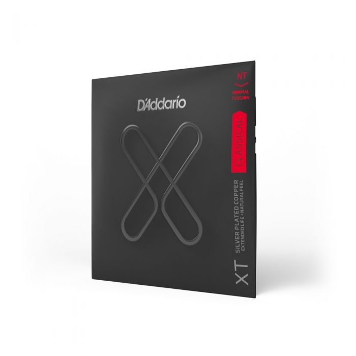 D'Addario XTC45 XT Classical Strings Angled View