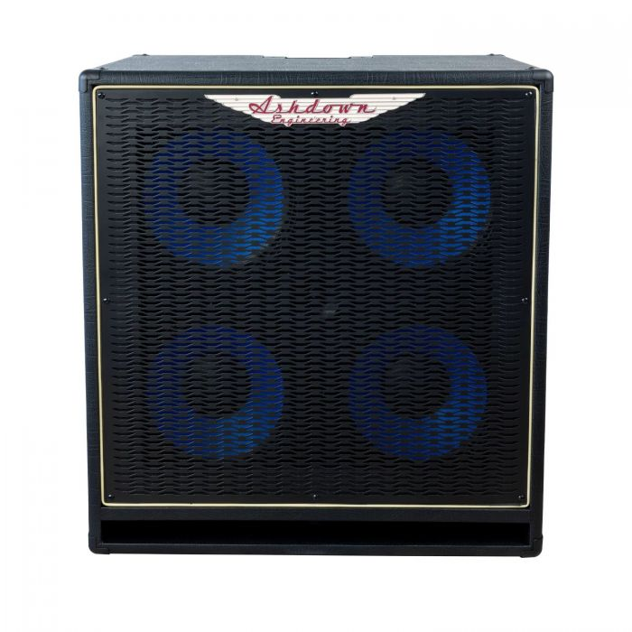 Front View of Ashdown ABM-410H-EVO IV 4x10 Bass Cabinet