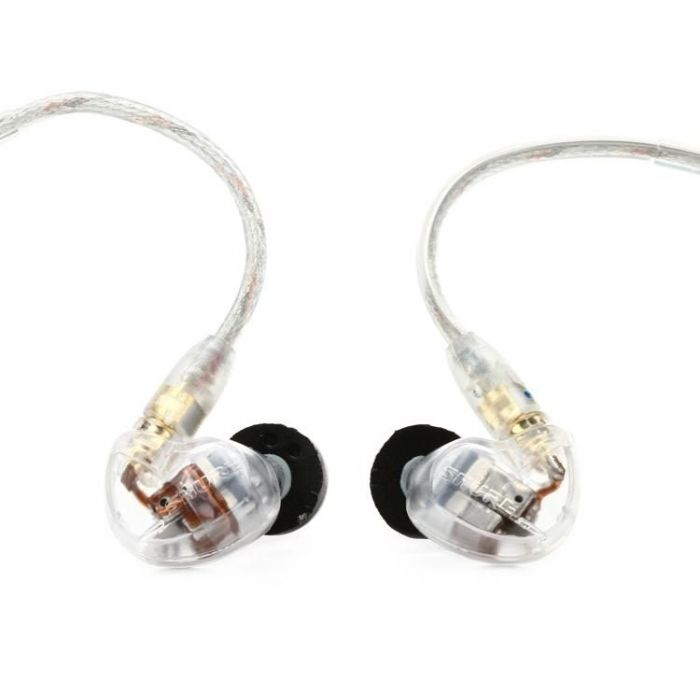 Shure In-Ear Monitor Headphones, Translucent Finish