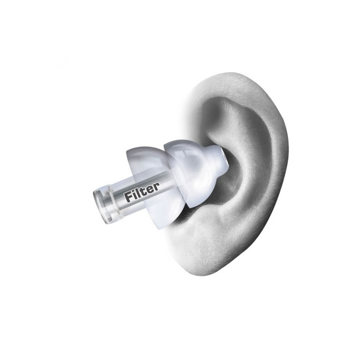 Alpine MusicSafe Pro Earplugs Comfortable Placement