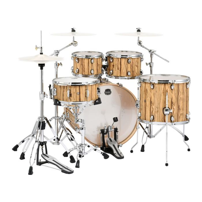 Rear View of Mapex Mars 5-Piece Rock Shell Pack