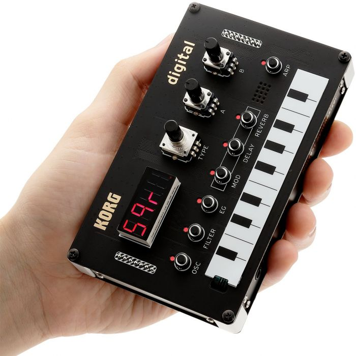 Korg NuTekt NTS-1 In The Palm of Your Hand