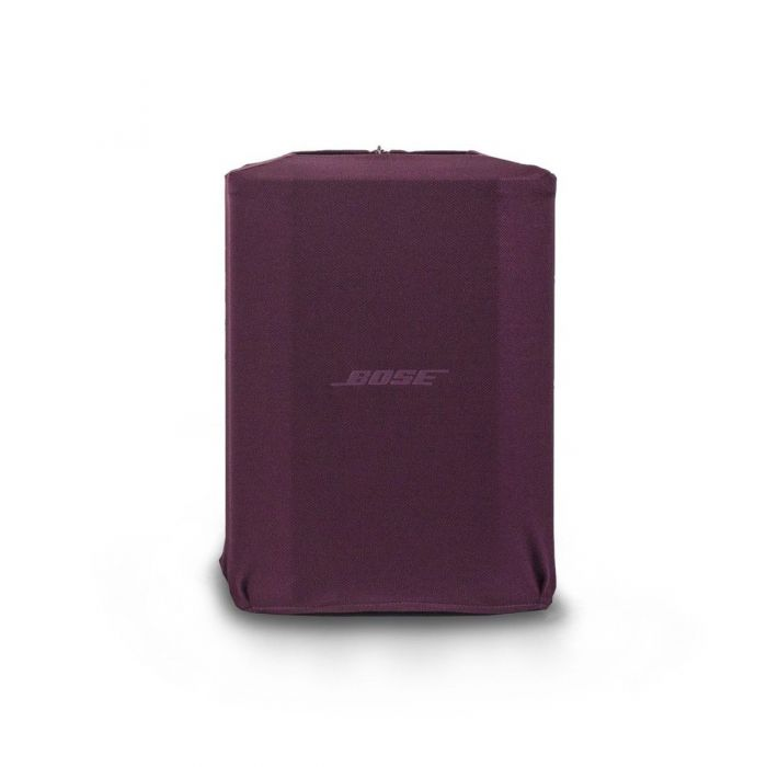 Front View of Bose S1 Pro Play-Through Cover Night Orchid Red