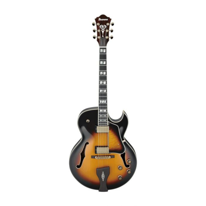 Ibanez LGB30 George Benson Signature Guitar Vintage Yellow Sunburst