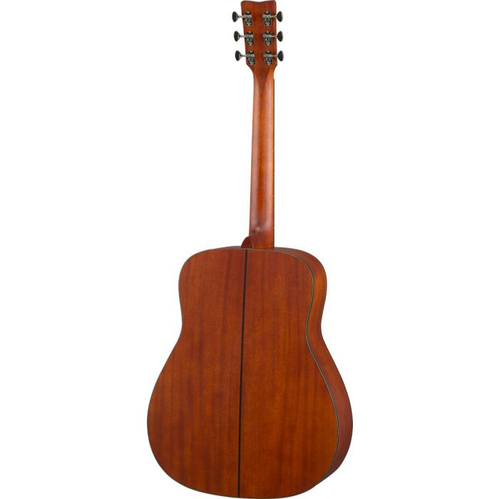 Rear View of Yamaha FG5 Red Label Acoustic Guitar