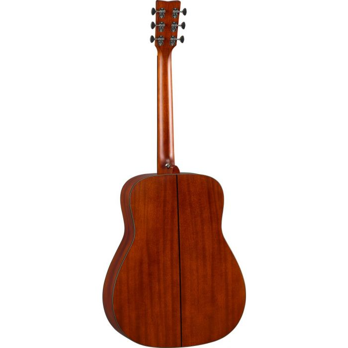 Rear View of Yamaha FGX5 Red Label Electro-Acoustic Guitar