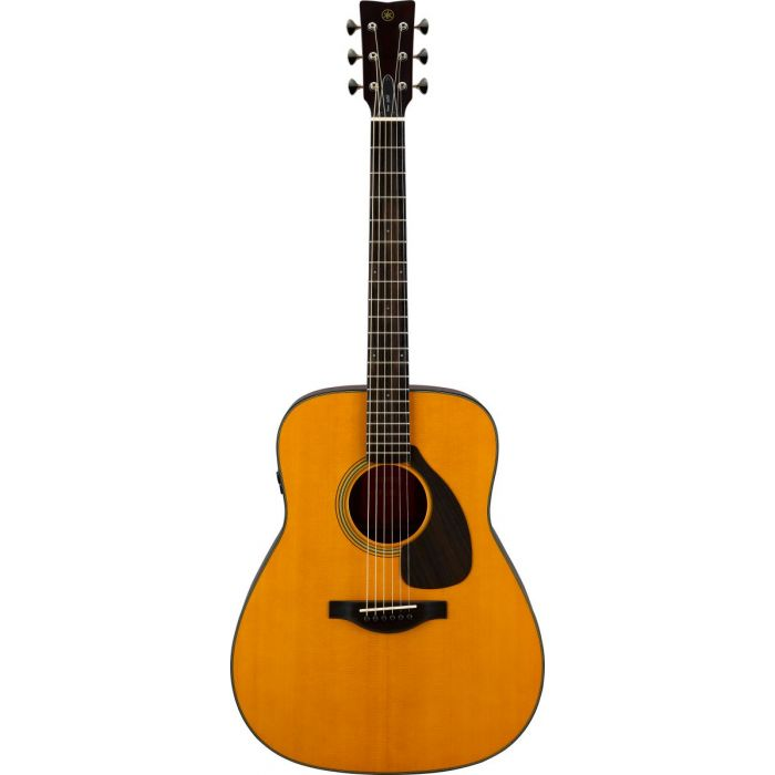 Front View of Yamaha FGX5 Red Label Electro-Acoustic Guitar