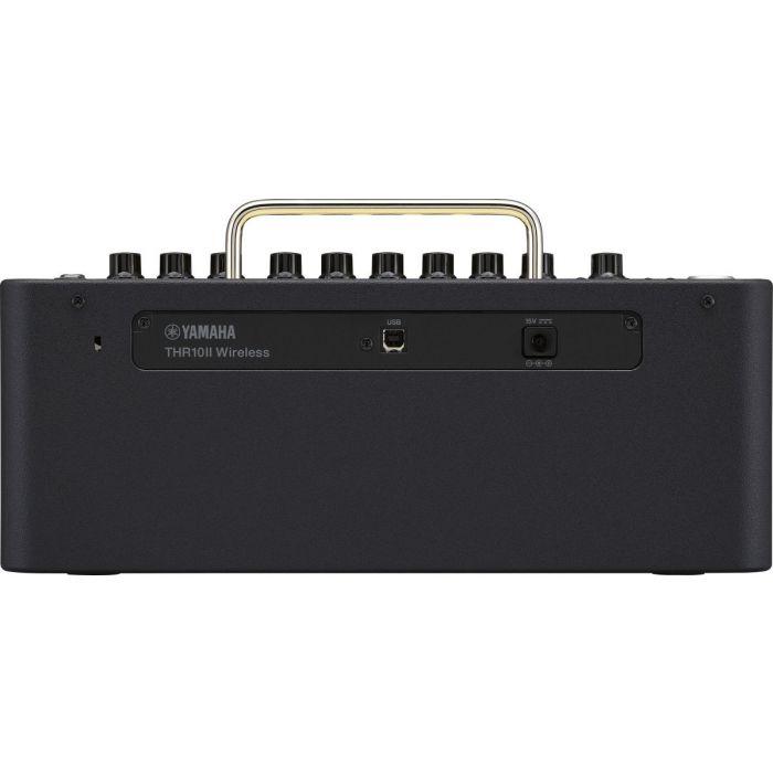 Rear View of Yamaha THR10II Wireless Desktop Amplifier