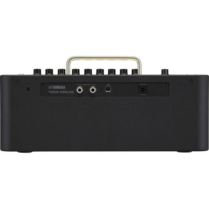 Rear View of Yamaha THR30II Wireless Desktop Amplifier