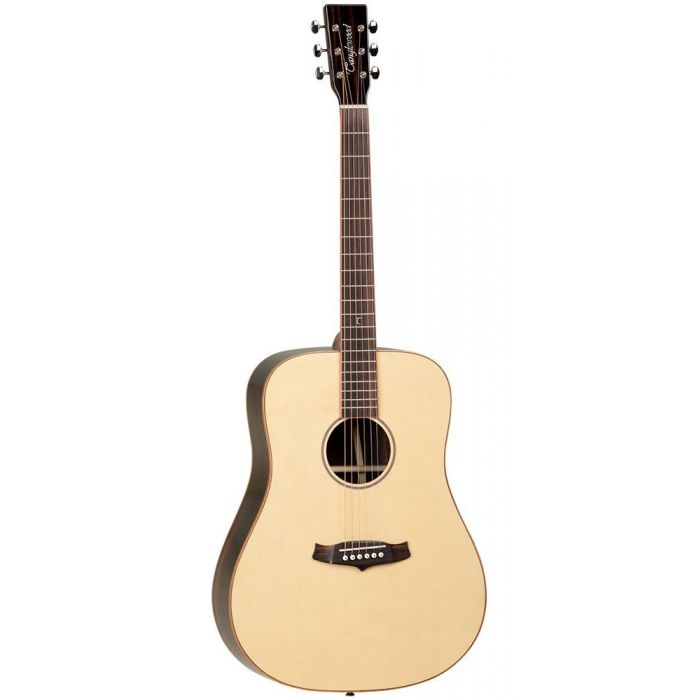 Full frontal view of a Tanglewood TWJDS Dreadnought Style Acoustic Guitar