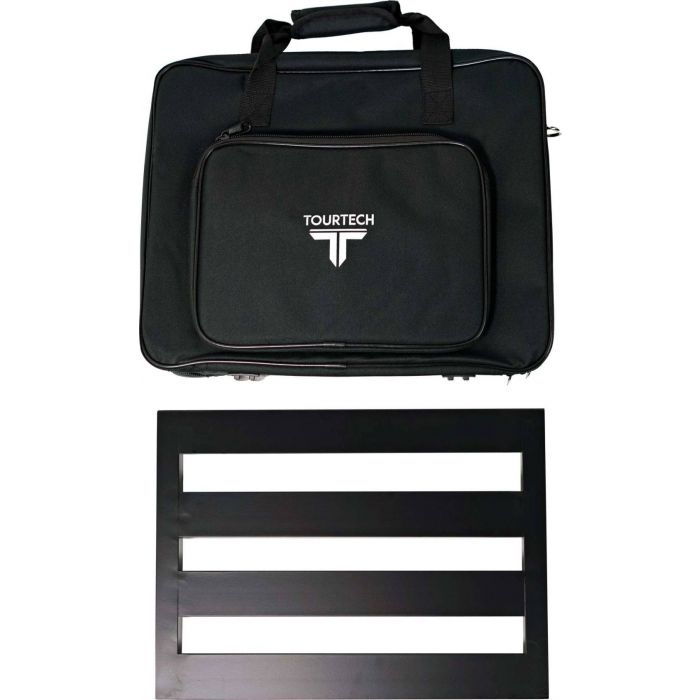 TOURTECH Medium Pedal Board with Soft Case