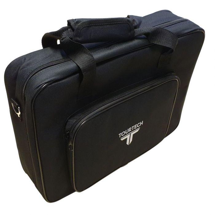 Black Tourtech pedalboard soft case